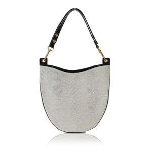 Celine Hobo One Shoulder Bag 174102 Trb / 38n 0 Gray Series × Black