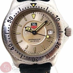 TAG HEUER タグホイヤー WI1310 プロフェッショナル セル レディース 腕時計腕時計 レザーベルト クォーツ 【kk】【中古】