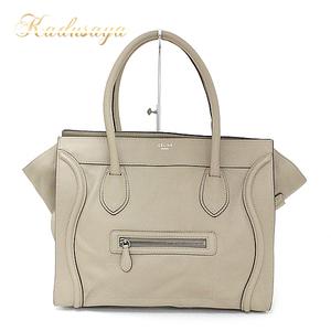 Celine Shoulder Luggage Dune Tote Bag 167773 Lug.03 Un