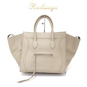 Celine Small Square Luggage Phantom Tap Calf Tote Bag 169953 Lca.18 Tp