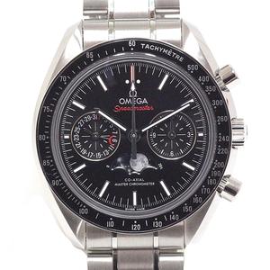 Omega Omega Speedmaster Moonphase Chronograph Master Chronometer 304.30.44.52.01.001 Black Dial Watch