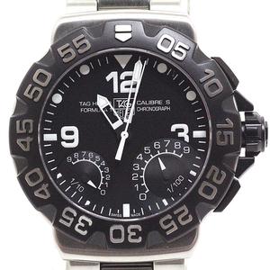 Tag Heuer Tag Men's Watch Formula 1 Caliber S Cah 7010.bt 0717 Black Dial