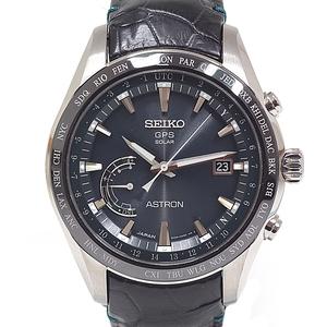 Seiko Men's Watch Astron Gps Solar Radio Sbxb 115 Dark Green Dial