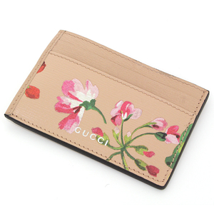 Gucci Card Case Pink Flower Pass 410124 (Used Good · Good)