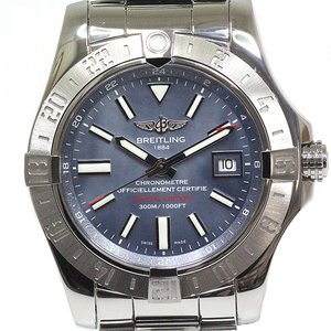 Breitling Breitling Men's Watch Avenger 2 Gmt Japan Limited Edition A 32390 Blue Mother Of Pearl