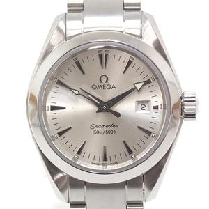 Omega Omega Ladies Watch Seamaster Aqua Terra 2577.30 Silver Dial