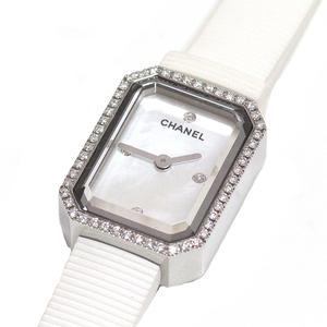 Chanel Chanel Ladies Watch Premiere Mini H2433 White Shell 4p Diamond