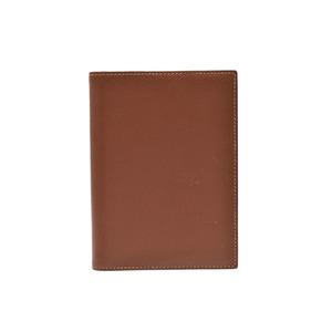 エルメス(Hermes) 中古 エルメス 手帳カバー クシュベル ゴールド/黄 □D刻印 HERMES