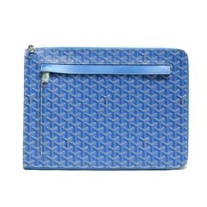 Goyar Goyard Sorbonne Blue Clutch Bag Men's Ladies