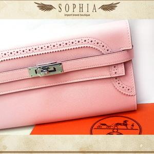 Hermes Kelly Porte Valul Guignies Sakura Wallet