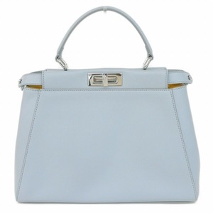 Fendi Peekaboo 2way Handbag Light Blue Bag