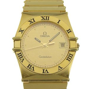 Omega Omega Constellation Mens Quartz Watch Wrist