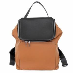Loewe Goya Backpack 2way Leather Brown Black Bag
