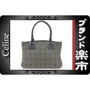 Celine Celine Handbag Saluki Logogram Black 163187