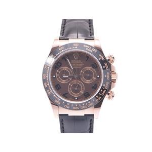 腕時計  ロレックス デイトナ116515LN ランダム PG 革 自動巻 箱 ROLEX