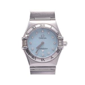 Omega Constellation Quartz Stainless Steel Women's Watch 1566.86
