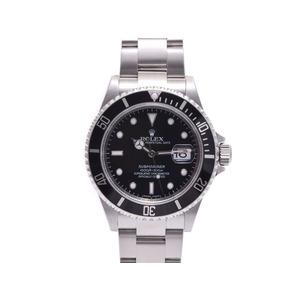 腕時計  ロレックス サブマリーナ16610 ランダム 黒文字盤 箱 ギャラ ROLEX