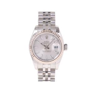腕時計  ロレックス デイトジャスト179174 D番 シルバー文字盤 ROLEX