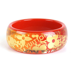 Louis Vuitton Brasserie · Tropical Bangle Red × Gold