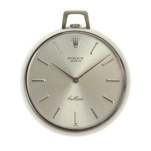 Rolex Cherini Pocket Watch Wg Men's Hand Winding 3718