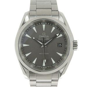 Omega Seamaster Aqua Terra Gray Dial Mens Quartz Wrist Watch 231.10.39.60.06.001