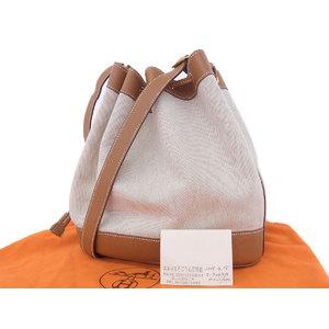 Hermes Towal Ash Kushbel Natural Market Gm Shoulder Bag