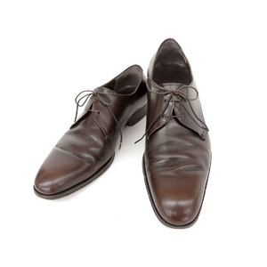 Salvatore Ferragamo Business Shoes Leather Boots Brown 8 2e