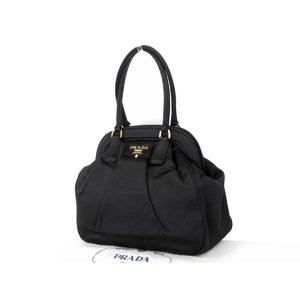 Prada Nylon Mini Handbag Black