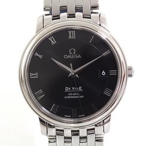 Omega Men's Watch Devil Prestige Chronometer Co-axial 4574.50 Black (Black) Dial