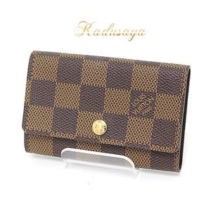 Louis Vuitton Mürtikle 6 Sequential Key Case Damier N62630