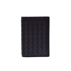 ボッテガ・ヴェネタ(Bottega Veneta) 新品 ボッテガヴェネタ カードケース イントレチャート 黒 箱 BOTTEGA VENETA