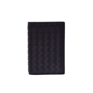 Bottega Veneta Intrecciato Intrecciato Card Case Black