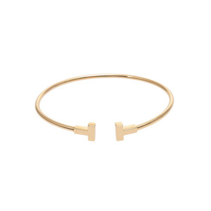 Tiffany Tiffany T Yellow Gold Bracelet