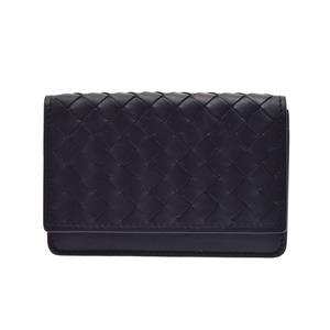 Bottega Veneta Intrecciato Leather Business Card Case Black B06963286S