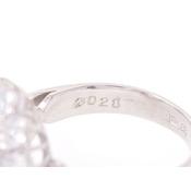 PT900・リング ダイヤ2.028ct F-VS1-3EX H&C 1.46ct 6.8g #8