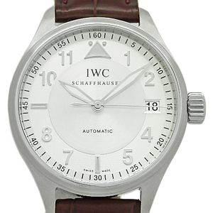 Iwc Pilot Watch Spitfire Mark Xvi 16 Iw325602 Men's Automatic Silver Dial