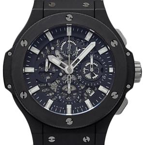 Hublot Big Bang Aeroban Black Magic 311.ci.1170.rx Chronograph Automatic Back Scale Men's Skeleton Wrist Watch