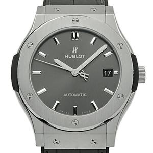 Hublot Classic Fusion Titanium Racing Gray Ti 511 - Nx 7071 Lr Automatic Mens Back Scale Dial Watch