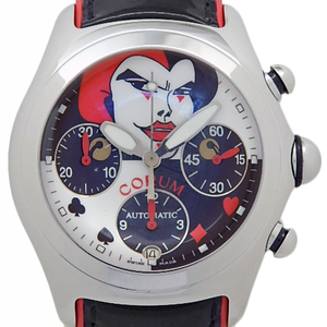 Corum Column Bubble Joker Trump 285.240.20 777 Limited Edition Automatic Men's Back Scale White Dial Watch