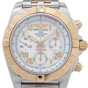 Breitling Chronomat 41 K18pg / Ss Combination Cb0140 Chronometer Men's Automatic Shell Dial Watch