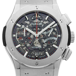 Hublot Classic Fusion Aero Premier 12 Wbsc Chronograph 525 - Nx 0123 Vr Wbs 15 Japan Only Limited Edition Automatic Men 'S Scales Skeleton Dial Watch