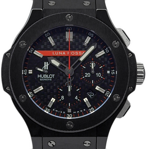 Hublot Big Bang Lunarossa Chronograph 301 - Cm 131 Rx Lun 06 Men's Automatic Limited Edition World Carbon Dial Watch