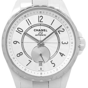 Chanel J12 White Ceramic H3837 Automatic Dial Watch