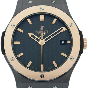 Hublot Classic Fusion King Gold 511 - Cp 1780 Rx Automatic Mens Carbon Dial Watch