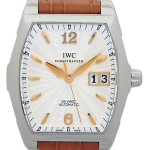 Iwc Da Vinci Iw 4523 452305 Ladies Automatic Silver Dial Plate Watch
