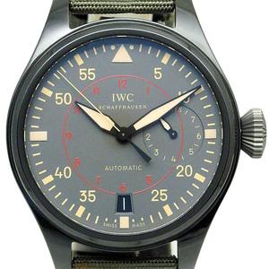 Iwc Big Pilot Top Gun Miramar Iw 501902 Men's Automatic Dark Gray Dial Wrist Watch