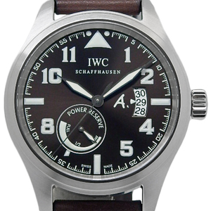 Iwc Pilot Watch Antoine De Saint-exupery Iw 320104 Men's Automatic Brown Dial