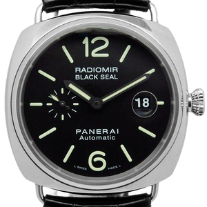 Panerai Radio Meal Black Seal Automatic Pam 00287 Men's J Number Case Watch Wrist