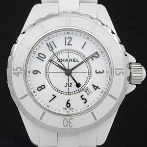 Chanel J12 White Ceramic H0968 33mm Ladies Quartz Dial Watch