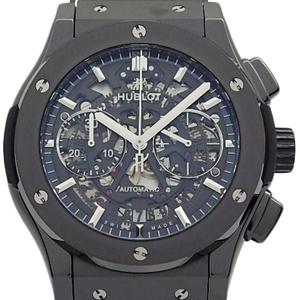 Hublot Classic Fusion Aero Chronograph 525-cm-0170-lr Automatic Men's Back Scale Skeleton Dial Watch